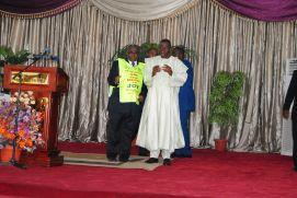 President Commander in Chief of the Armed Forces Federal Republic of Nigeria Goodluck Ebele Azikiwe  and Pst Muoka